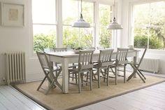 Sisal Style - Dining Room Ideas – Decorating, Design & Wallpaper (houseandgarden.co.uk)