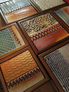 """tiled boxes 1-180 Beautiful hand made tiles by """"Gary Jackson: Fire When Ready"""" website"""