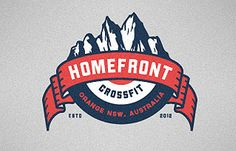 HomeFront CrossFit Highest Rated Logos « Logo Faves   Logo Inspiration Gallery