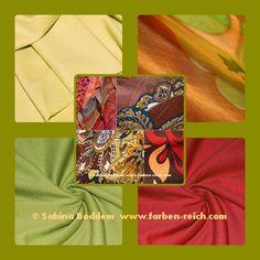 Farben für den Herbsttyp, Farbberatung, Farbenreich, Sabina Boddem, www.farben-reich.com