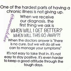 The pain is hard but the mental battle is the hardest part for me.
