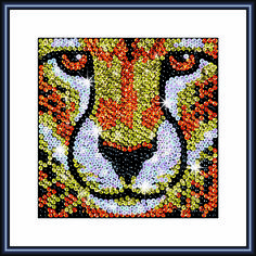 Sequin Art Zoom Cheetah 1114 Craft Kit | Hobbies