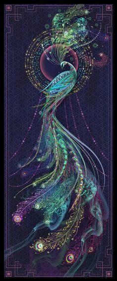 Image of 'Emerald Watcher' - Limited Edition Prints - Chris Saunders Designer
