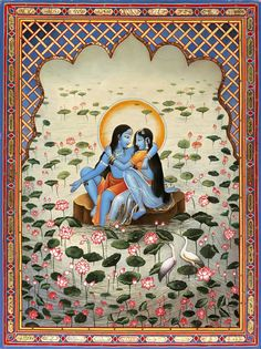 The eternal love... Radha & Krishna