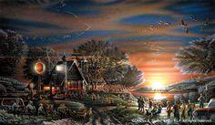 terry redlin | Terry Redlin. Migration days