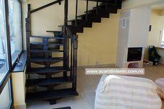 scara interioara de lemn masiv modulara mana curenta balustrii din lemn preturi calitate