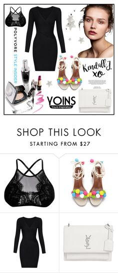 """Yoins #33/8"" by s-o-polyvore ❤ liked on Polyvore featuring Yves Saint Laurent, xO Design, yoins, yoinscollection and loveyoins"