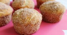 Potatocroquetter Spanish tapas - These are out of control! I need to learn how to make these too. Cinnamon Sugar Donuts, Spanish Dishes, Spanish Tapas, Healthy Muffins, Mini Muffins, Fabulous Foods, Muffin Recipes, Coco, Sweet Recipes
