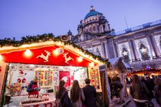 Saturday 16th November - Sunday 22nd December 2013. The infamous Belfast Christmas Market returns to the City Hall for the tenth annual Christmas Market!