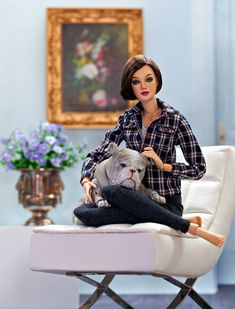 by Marella Imparato on Dolls in 2018 Barbie Doll House, Barbie Life, Barbie World, Barbie And Ken, Pregnant Barbie, Barbie Diorama, Barbie Family, Doll Display, Valley Of The Dolls