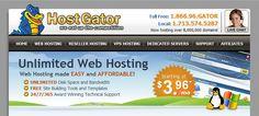 Web Hosting Service - HostGator Review