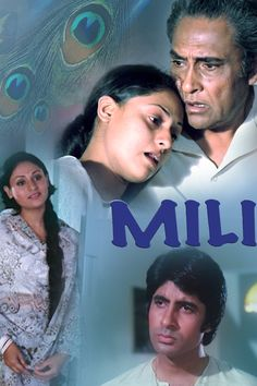 Mili is a Bollywood romantic drama film directed by Hrishikesh Mukherjee. It starred Amitabh Bachchan, Jaya Bachchan and Ashok Kumar in lead roles. Jaya Bachchan received a Filmfare nomination as Best Actress, the only nomination for the film.