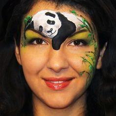 What can be more cute than a #pandacub #facepaint  #facepainter #facepainting #animalfacepaint #faceart #pandafacepaint #pandaface #cutepanda #olgamurasev #аквагрим #ольгамурашева #learnfacebodyart