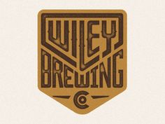 Wiley Brewing | #corporate #branding #creative #logo #personalized #identity #design #corporatedesign < repinned by an #advertising agency from #Hamburg / #Germany - www.BlickeDeeler.de | Follow us on #Facebook > www.facebook.com/BlickeDeeler