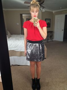 The not-so Vegas Sequined Skirt...six ways to wear your sequined skirt all the time!