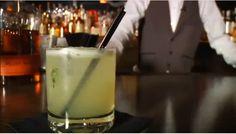 Mark Twain Inspired Cocktail at The Vault at Pfaff's