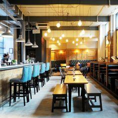 Sam's Brasserie & Bar | Skinflint Design