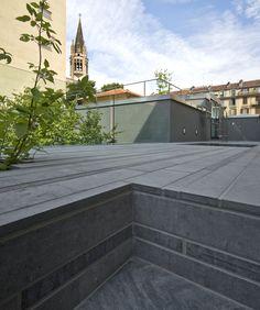 Since 1998 the Web Atlas of Contemporary Architecture Contemporary Architecture, Landscape Architecture, Palermo, Sidewalk, Exterior, Italy, Studio, Landscapes, Design