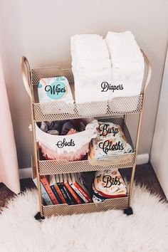 Organizing Storage Solutions for a Small Space; Perfect for bedroom storage, toy room storage, nursery storage and home storage Organizing Storage Solutions for a Small Space; Perfect for bedroom storage, toy room storage, nursery storage and home storage Toy Room Storage, Baby Storage, Nursery Storage, Bedroom Storage, Storage Ideas For Nursery, Cloth Diaper Storage, Baby Bottle Storage, Baby Clothes Storage, Diaper Caddy