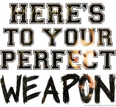 Perfect Weapon - Black Veil Brides - crack bones with blind agression-