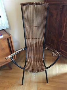 Fotel, Władysław Wołkowski, lata 50. Ten fotel nie został wyprodukowany, on został stworzony.