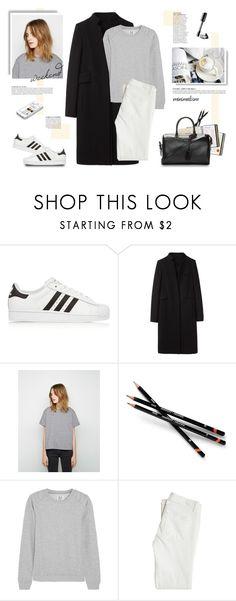 """Minimalist."" by yexyka ❤ liked on Polyvore featuring adidas Originals, Alexander Wang, Sacai Luck, Anja, Zoe Karssen, Paige Denim and Yves Saint Laurent"