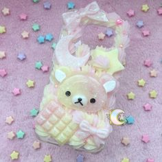 Samsung Galaxy S6 EDGE with rubber bumper Kuma by MagicalGirlCafe
