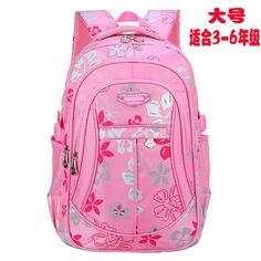 children school bags for girls printing elementary school backpack orthopedic backpacks schoolbag backpack kids mochila infantil #Girlfashionkidselementary