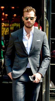 Jamie Dornan leaving The Bowery Hotel New York August 4, 2016