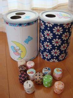 ミルク缶のおもちゃ&ボール - うさおでござる