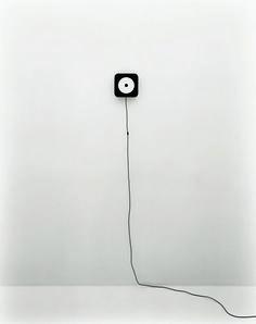 Design Classics: Wall-mounted CD player by MUJI - ph. Tamotsu Fujii