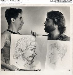 Daniel Johnston and his friend David Thornberry