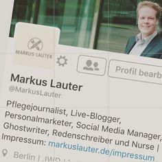 #Pflegejournalismus auf Twitter. Schaut mal vorbei!