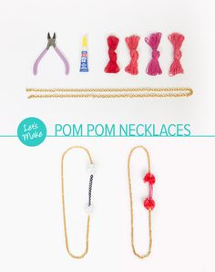 Love this anthropology inspired necklace! Make your own with a Darby Smart kit