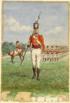 2nd (Queen's Royal) Regiment of Foot, 1806