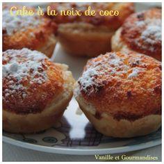 Cakes feuilletés à la noix de coco