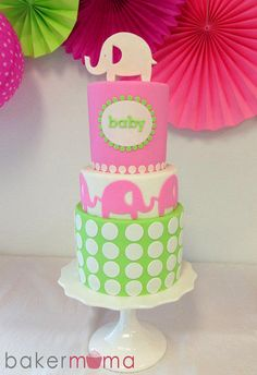 Grey instead of White, Purple instead of pink, and teal instead of green! and its the PERFECT CAKE! ANGEL I LOVE THIS ONE!
