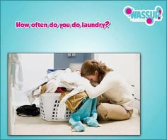 How often do you do #laundry? A. Once a Week B.Once a Month C. When you ran out of clean clothes  Call Wassup Care @ 1800 3000 9969 Visit: www.wassuplaundry.com