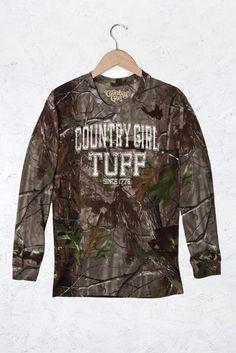 Women's Camo Long Sleeve RealTree® - Country Girl® Tuff