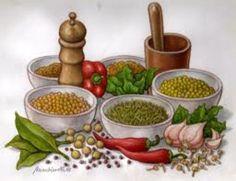 Especias culinarias como remedios naturales en la salud