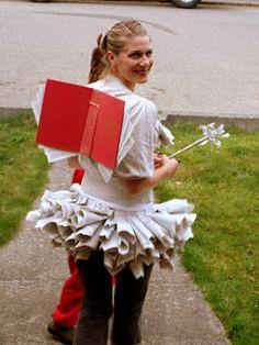 Estudiosos dom: Inspirações caseiros Halloween Costume