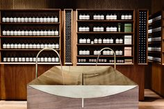 Melbourne: aesop store opening design is in the details витрина, картинки, магазины Aesop Shop, Sink Design, Folding Doors, Retail Space, Salon Design, Retail Shop, Retail Design, Store Design, Exterior Design