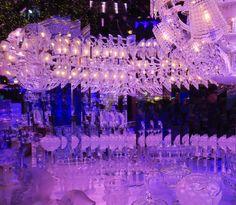 #ReveDeNoelAuPrintemps Vitrine de Noël du Printemps. Paris. Le palais de cristal. 2016. Photo: @DavidMolière. printemps.com