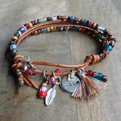Bohemian bracelet boho chic bracelet gypsy womens jewelry boho