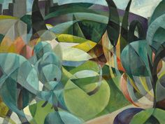 """""""Mary Swanzy Irish painter who painted in many styles including cubism, fauvism, and orphism, and was one of Ireland's first abstract painters Large Canvas Art, Diy Canvas Art, Abstract Art For Kids, Abstract Trees, Irish Painters, Canvas Art Projects, Writing Art, Irish Art, Abstract Painters"""