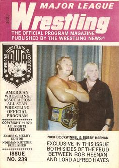 Major League Wrestling January 1980