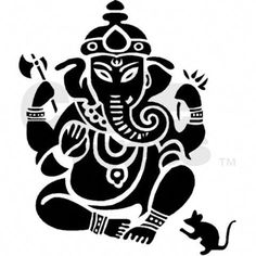 GANESH Photo: This Photo was uploaded by GANESH_LSD. Find other GANESH pictures and photos or upload your own with Photobucket free image and video host. Ganesha Drawing, Ganesha Tattoo, Ganesha Painting, Ganesha Art, Lord Ganesha, Bali Painting, Stencil Art, Stencils, Canvas Art