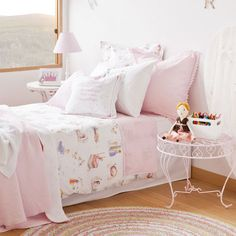PRINCESSES PRINT BED LINEN - Bedding - Bedroom | Zara Home United States