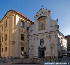 Kościół św. Jana Chrzciciela i św. Jana - stopped in one evening for a service - many nuns and local women