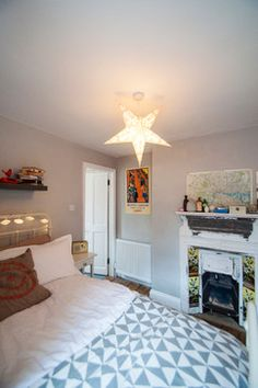 North London Flat eclectic-bedroom